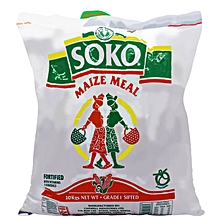 Maize Meal Fortified with Vitamins and Minerals, 10Kg