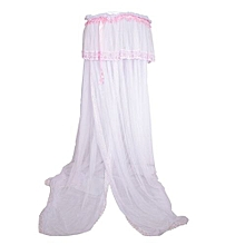 Baby Cot mosquito net with a very strong stand - Cream White