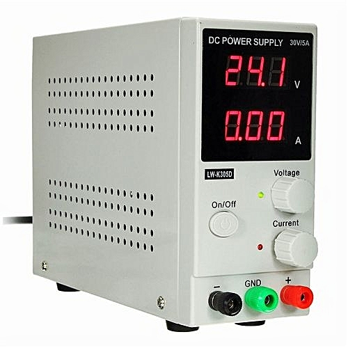 Switching DC Power Supply Adjustable Variable Precision 0~30V 0~5A Lab DD  With Power Cable