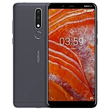 "Nokia X5 - 5.86"" HD+ (3GB RAM + 32GB ROM) Android 8.1, (13.0MP + 5.0MP) + 8.0MP, 4G LTE - Black"