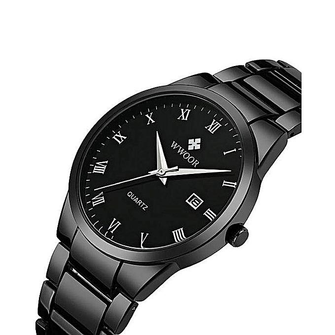 Wwoor Watches Men Wwoor Luxury Brand Men Stainless Steel Waterproof