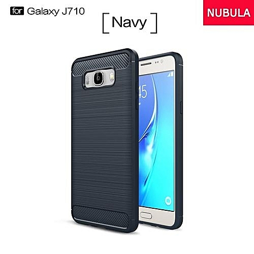 new york 7f831 0b4f4 High Quality Soft Rugged Armor Case For Samsung Galaxy J7 2016 /J710 Carbon  Fiber Brushed TPU Shockproof Case/Ultra-thin Full Protection Anti-Scratch  ...