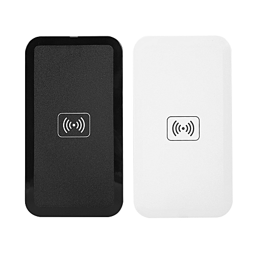 Qi Standard Wireless Charger Charging Pad Universal for IOS Android Phones  (Black)