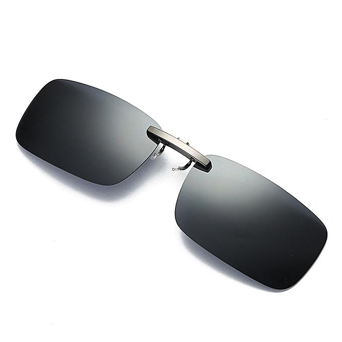 4850f8e1eb Detachable Night Vision Lens Driving Metal Polarized Clip On Glasses  Sunglasses