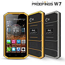 E&L W7 Global Version 5.0 Inch IP68 Waterproof Dustproof 1GB RAM 16GB ROM MT6735 4G Smartphone EU