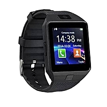 Wearable Devices DZ09 Smart Watch Support SIM TF Card Electronics Wrist Watch Connect Android Smartphone DZ09 Smartwatch Black - Black