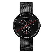 CIGA Design Men's Quartz Analog Wrist Watch Waterproof Date Day Business Watch
