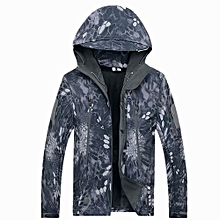 New Fashion Shark Skin Outdoor Prowler Soft Shell Fourth-generation Waterproof Jacket