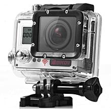 LEBAIQI Amkov AMK7000S 4K Ultra HD 2 inches TFT WiFi Action Camera DV with Sunplus 6350M SPCA6350 OV4689 Image Sensor 170 Degree View Angle Remote Control Watch