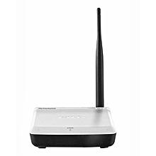 A3 - 150Mbps - Wireless Range Extender - White and Black