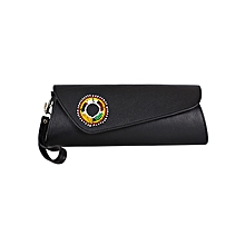 Black Ladies Clutch Purse With Beads