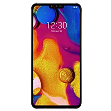V40 ThinQ 6.4-Inch (6GB RAM, 128GB ROM) Android 9.0 Pie, (16MP + 12MP + 12MP) Dual SIM LTE Smartphone - New Platinum Grey