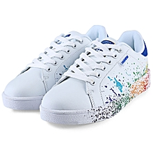 Ladies Lace Up Sneaker-BLUE
