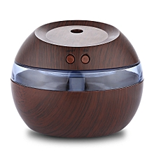 USB Essential Oil Diffuser Ultrasonic Humidifier - Dark