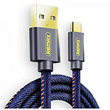 Remax RC-096T Cowboy series Jeans Type-C Data Cable DIOKKC
