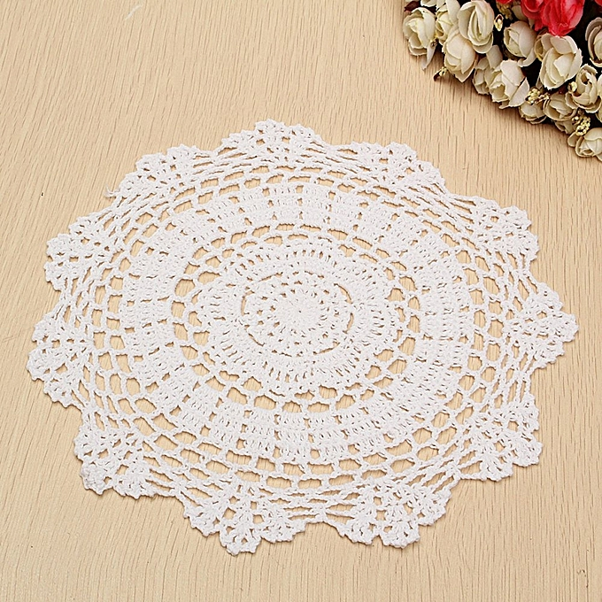 Buy Universal 118 Vintage Cotton Placemat Hand Crocheted Lace