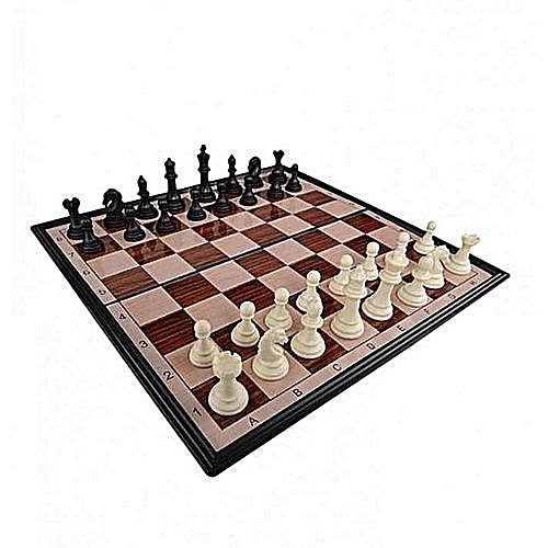 b5f3041aa391 Chess Board Game Magnetic Foldable Travel Chess Set