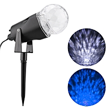 Kaleidoscope Projector LED Light 2 Colors Switchable - Blue