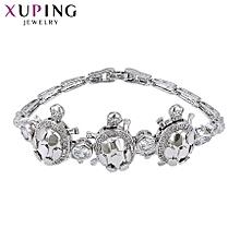 XUPING  fashion crystal Bracelets-Platinum