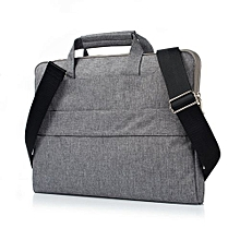 11 Inch Laptop Sleeve, Hand Bag Nylon Pouch Case For Macbook Air 11.6 Lenovo Laptop All Notebook, Gray