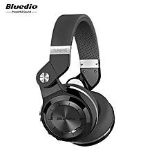 Bluedio T2S Bluetooth Headphones with Mic (Black) BDZ Mall