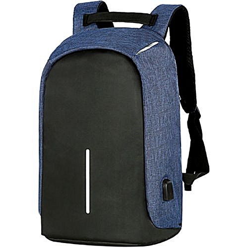 4a2b214bbe64 Anti-Theft Backpack With USB Charging Port Laptop Backpack Casual School  Bookbag