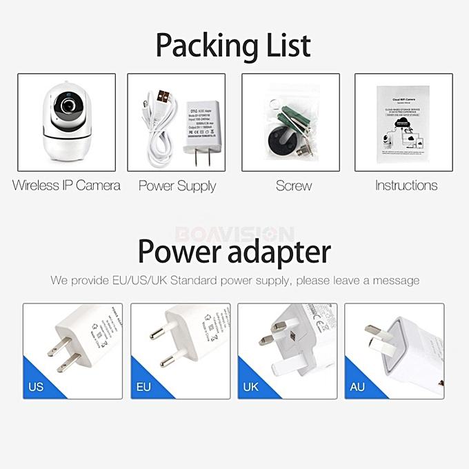Auto Tracking WIFI IP Camera 1080P WI-FI Smart Cam Cloud Storage Two Way  Audio 720P 2MP Wireless Home CCTV Surveillance Camera(1080P IP Camera)