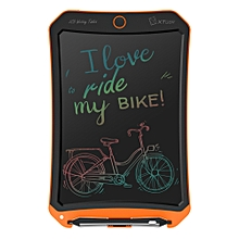 WP9309 8.5 inch LCD Color Screen Writing Tablet Handwriting Drawing Sketching Graffiti Scribble Doodle Board or Home Office Writing Drawing (Orange)
