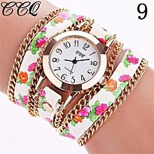 Fohting   CCQ Women Fashion Casual Analog Quartz Women  Watch Bracelet Watch  -