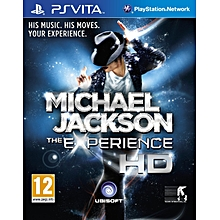 PS Vita Game Michael Jackson The Experience HD