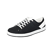 Black & White Men's Sneakers