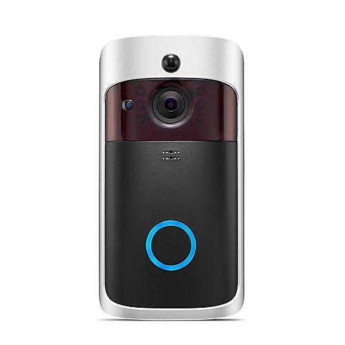 359dd60e6bf02 WIFI Visual Doorbell Wireless Intercom Doorbell PIR Motion Detection Night  View Security Camera Video Smart Doorbell Ring BELLA