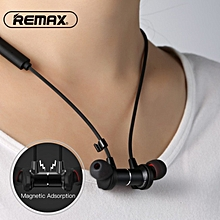 Remax Magnetic neckband headset RB-S7 sport racing bluetooth wireless headset noise reduce headphone HD with mic for mobilephone