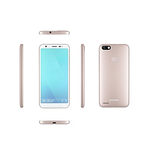 "F205 lite -5.47"" -16GB, 1GB RAM- 8MP Rear -4G-GOLD"