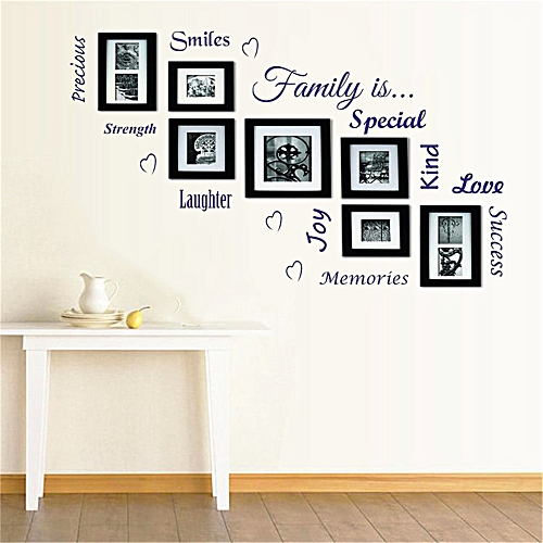 DIY Family Removable Wall Decal Family Home Sticker Mural Art Home Decor