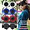 Sport Headsets, New universal Mini Sport Wireless Bluetooth Handsfree Stereo Headset Headphone Earphone With Micro SD Card Slot mp3 Player (Brown)