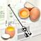 KCASA KC-ET047 Stainless Steel Egg Shell Opener Topper Cutter Cracker Knocker Kitchen Cooking Tools