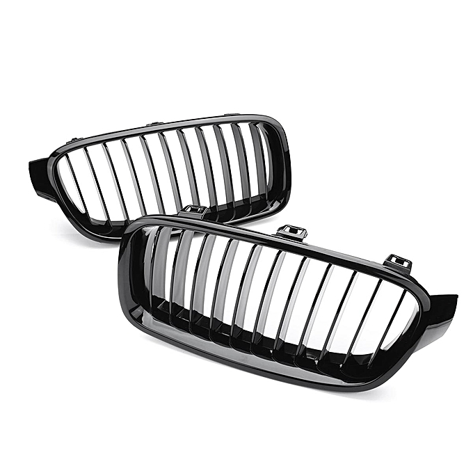 buy generic gloss black front kidney grilles grill for bmw f30 f31 3 BMW F30 335I gloss black front kidney grilles grill for bmw f30 f31 3 series saloon 2012 2015