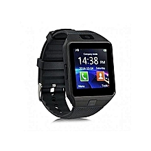 Touch Screen Smart Watch Phone DZ09 -  Black