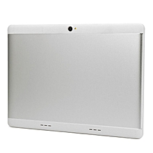 10.1 Inch for Android 7.0 Tablet PC Large Memory WIFI Octa-Core Metal Tablets silver