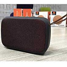 Desktop Wireless Bluetooth Stereo Speaker with MicroSD Slot/ Flashdisk and Radio - Red