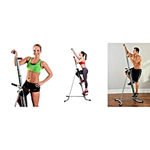 Maxi Climber Cardio Exercise Machine - Black