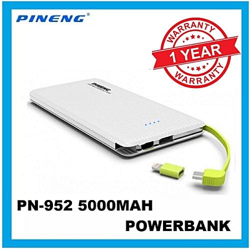 2018 Pineng PN-952 5000mAh Power Bank PN 952 PN952 BGmall