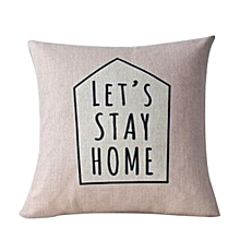 Simple Fashion Throw Pillow Cases Cafe Sofa Cushion Cover Home Decor