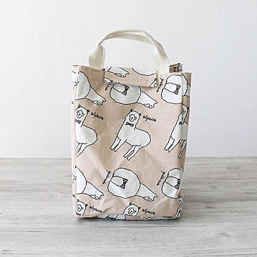 Kcasa Kc Cb06 Woman Hand Held Lunch Tote Bag Travel Picnic Cooler Insulated Handbag
