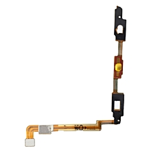 Keypad Button Touch Sensor Flex Cable for Samsung Galaxy Note 2 II N7100 Yellow & Silver