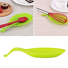 Silicone Soup-Spoon Cookware Heat Resistant Cooking Utensils Pad Dinner-Tool