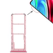2 x SIM Card Tray + Micro SD Card Tray for Vivo Y93(Red)
