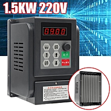 220V 1.5KW 8A Single Phase VFD Variable Frequency Filter Drive Speed Inverter