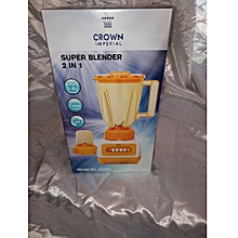 crown 2 IN 1 Speedy Blender with grinder
